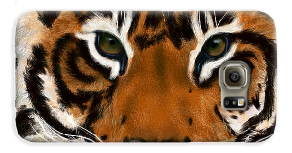 Tiger Eyes Galaxy S6 Case