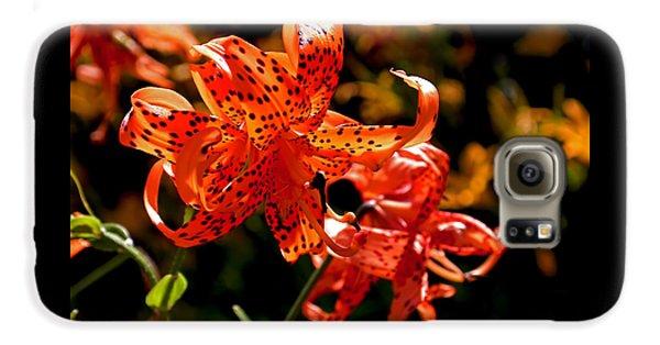 Tiger Lilies Galaxy S6 Case