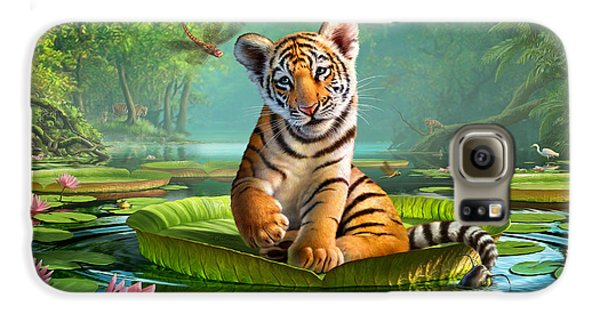 Tiger Lily Galaxy S6 Case