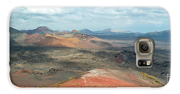Canary Galaxy S6 Case - Timanfaya Panorama by Delphimages Photo Creations