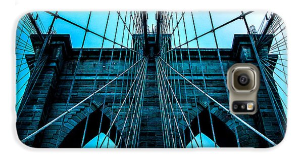 Brooklyn Bridge Galaxy S6 Case - Timeless Arches by Az Jackson
