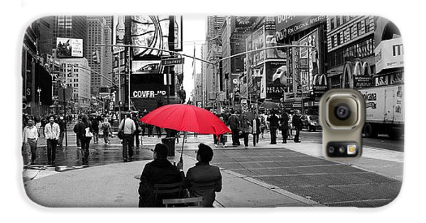 Times Square 5 Galaxy S6 Case by Andrew Fare