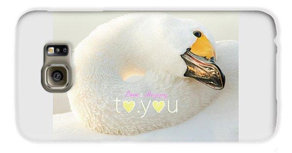 To You #001 Galaxy S6 Case by Tatsuya Atarashi