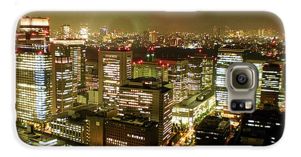 Tokyo Skyline Galaxy S6 Case by Nancy Ingersoll