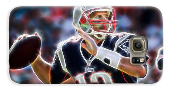 Tom Brady Collection Galaxy S6 Case by Marvin Blaine