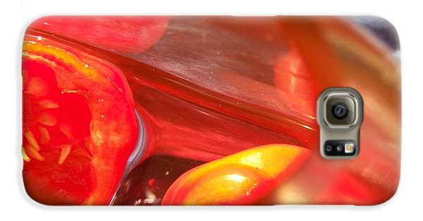 Tomatoe Red Galaxy S6 Case