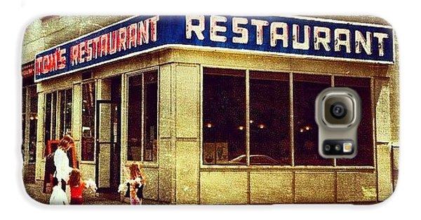 Tom's Restaurant. #seinfeld Galaxy S6 Case by Luke Kingma