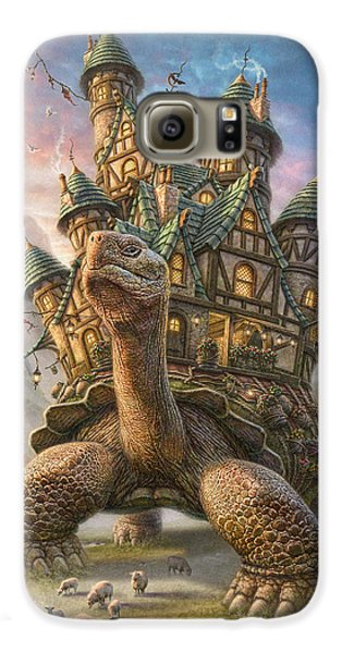 Tortoise House Galaxy S6 Case by Phil Jaeger