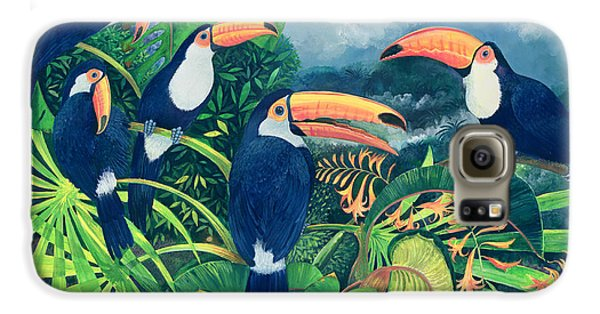 Toucan Talk Galaxy S6 Case by Lisa Graa Jensen