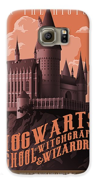 Wizard Galaxy S6 Case - Tour Hogwarts Castle by Christopher Ables