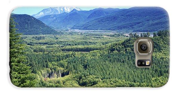 Toutle Valley, Wa Galaxy S6 Case