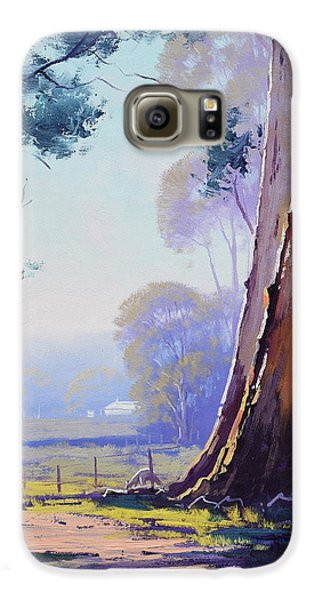 Kangaroo Galaxy S6 Case - Track To The Farm by Graham Gercken