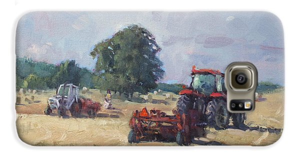 Georgetown Galaxy S6 Case - Tractors In The Farm Georgetown by Ylli Haruni