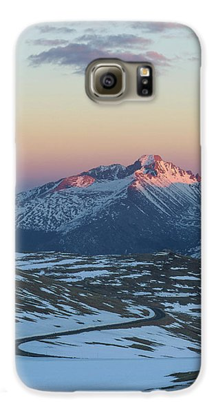 Galaxy S6 Case featuring the photograph Trail Ridge Road Vertical by Aaron Spong