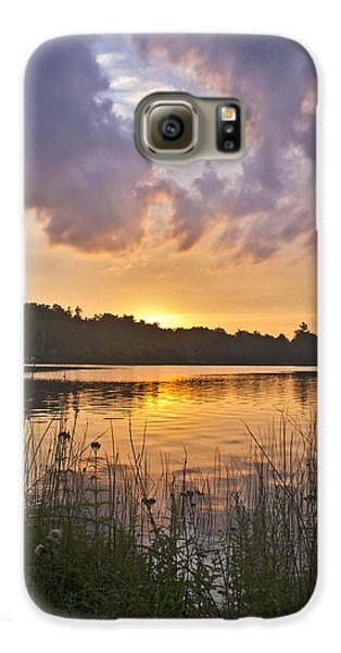Tranquil Sunset On The Lake Galaxy S6 Case