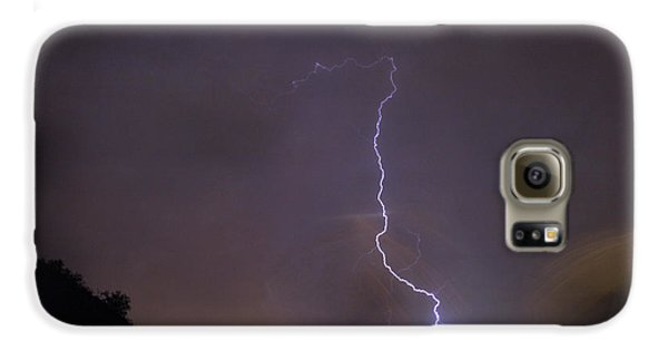 Galaxy S6 Case featuring the photograph It's A Hit Transformer Lightning Strike by James BO Insogna