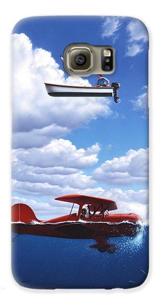 Seagull Galaxy S6 Case - Transportation by Jerry LoFaro