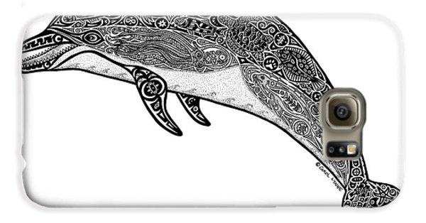 Tribal Dolphin Galaxy S6 Case