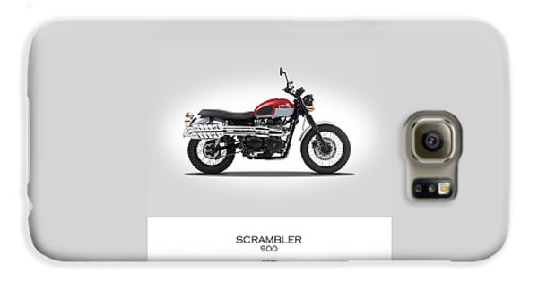Triumph Scrambler 2015 Galaxy S6 Case by Mark Rogan