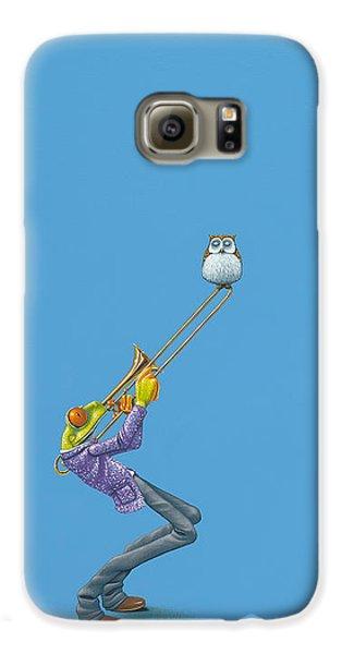 Amphibians Galaxy S6 Case - Trombone by Jasper Oostland