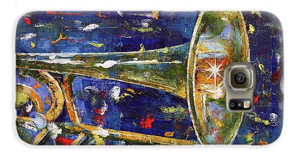 Trombone Galaxy S6 Case - Trombone by Michael Creese