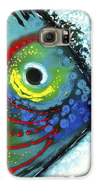 Largemouth Bass Galaxy S6 Case - Tropical Fish by Sharon Cummings