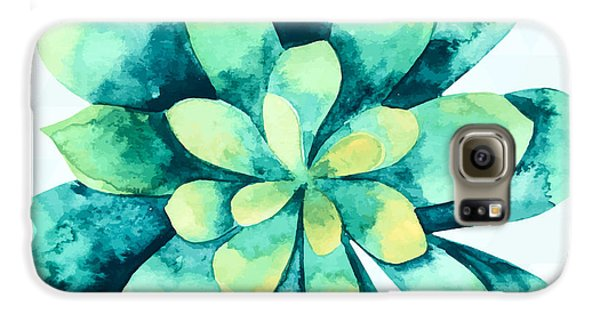 Tropical Flower  Galaxy S6 Case by Mark Ashkenazi