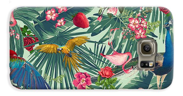 Tropical Fun Time  Galaxy S6 Case by Mark Ashkenazi