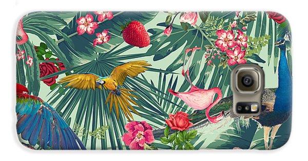 Tropical Fun Time  Galaxy S6 Case