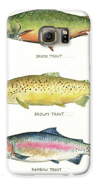 Trout Species Galaxy S6 Case