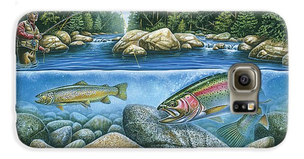 Trout View Galaxy S6 Case by JQ Licensing