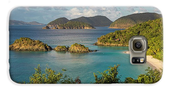 Galaxy S6 Case featuring the photograph Trunk Bay Morning by Adam Romanowicz