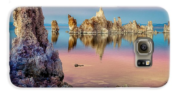 Galaxy S6 Case featuring the photograph Tufas At Mono Lake by Rikk Flohr