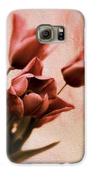 Galaxy S6 Case featuring the photograph Tulip Whimsy by Jessica Jenney