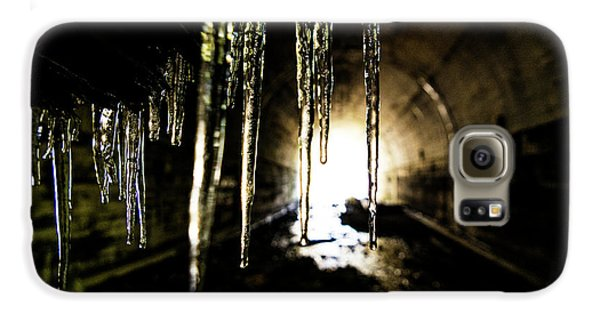 Dungeon Galaxy S6 Case - Tunnel Icicles by Pelo Blanco Photo