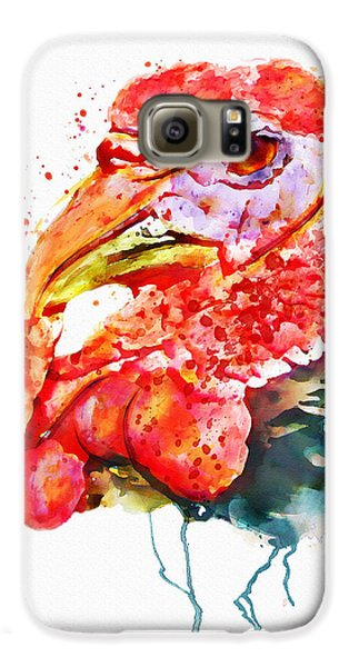 Turkey Head Galaxy S6 Case by Marian Voicu