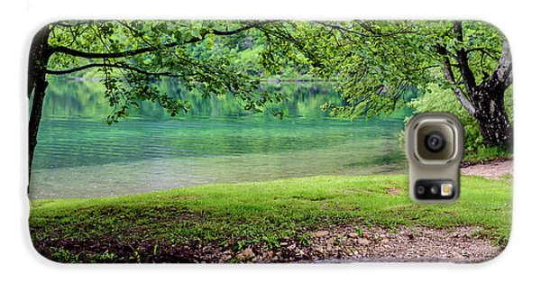 Turquoise Zen - Plitvice Lakes National Park, Croatia Galaxy S6 Case