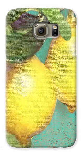 Tuscan Lemon Tree - Citrus Limonum Damask Galaxy S6 Case