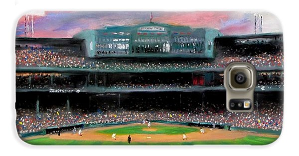 Twilight At Fenway Park Galaxy S6 Case by Jack Skinner