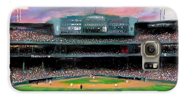 Sports Galaxy S6 Case - Twilight At Fenway Park by Jack Skinner