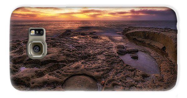 Twilight On The Pacific - California Coast Galaxy S6 Case