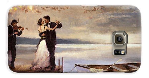 Boat Galaxy S6 Case - Twilight Romance by Steve Henderson