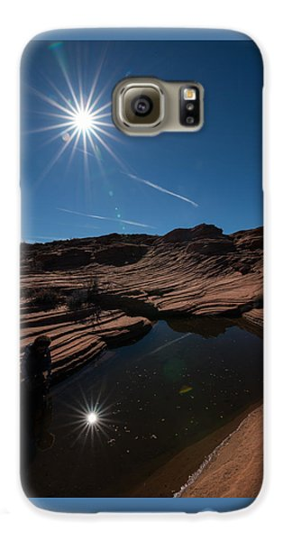 Twin Stars Reflection Galaxy S6 Case
