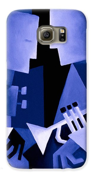 Jazz Galaxy S6 Case - Two For The Blues by Thomas Andersen