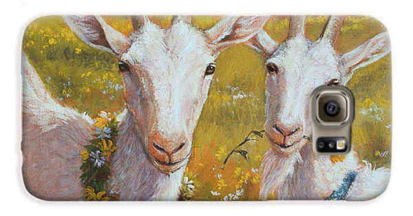 Two Goats Of Summer Galaxy S6 Case