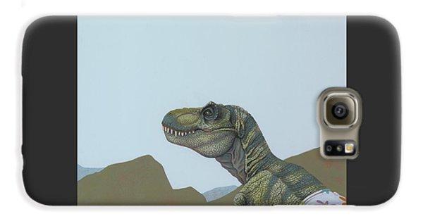 Tyranosaurus Rex Galaxy S6 Case by Jasper Oostland