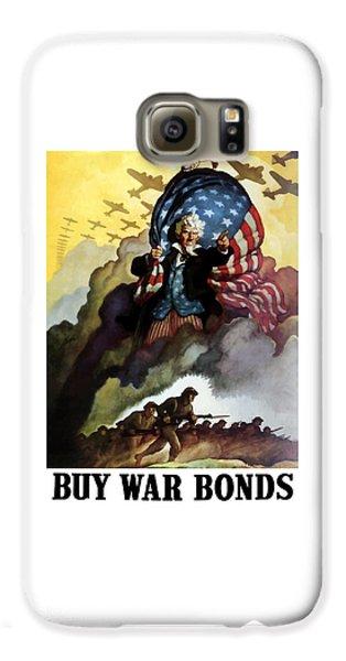 Uncle Sam - Buy War Bonds Galaxy S6 Case