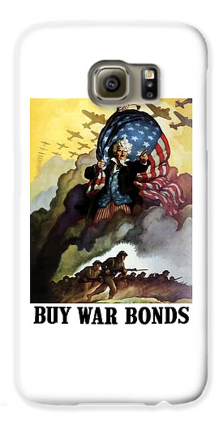 Landmarks Galaxy S6 Case - Uncle Sam - Buy War Bonds by War Is Hell Store