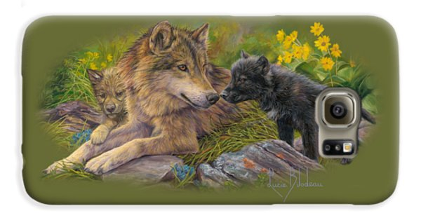 Wildlife Galaxy S6 Case - Unconditional Love by Lucie Bilodeau