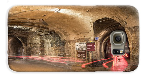 Underground Tunnels In Guanajuato, Mexico Galaxy S6 Case by Juli Scalzi